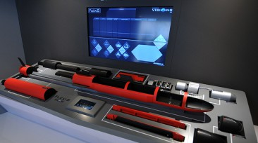 Flexis Concept Vision installation at Le Bourget 2015
