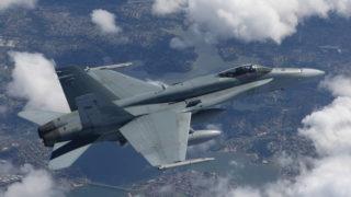 MBDA ASRAAM on Boeing F/A-18A/C Hornet