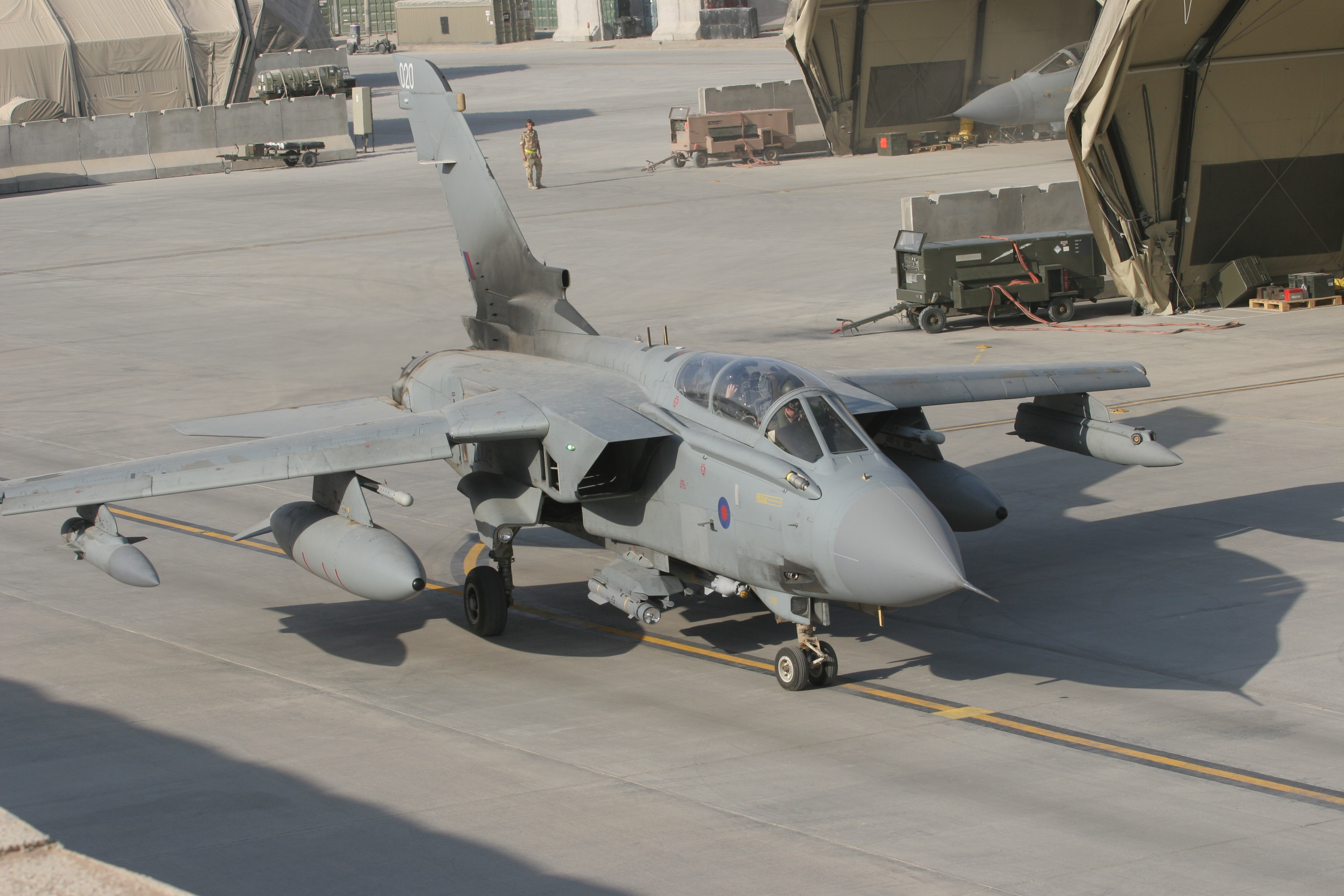 BRIMSTONE Dual Mode DBM Tornado Afghanistan