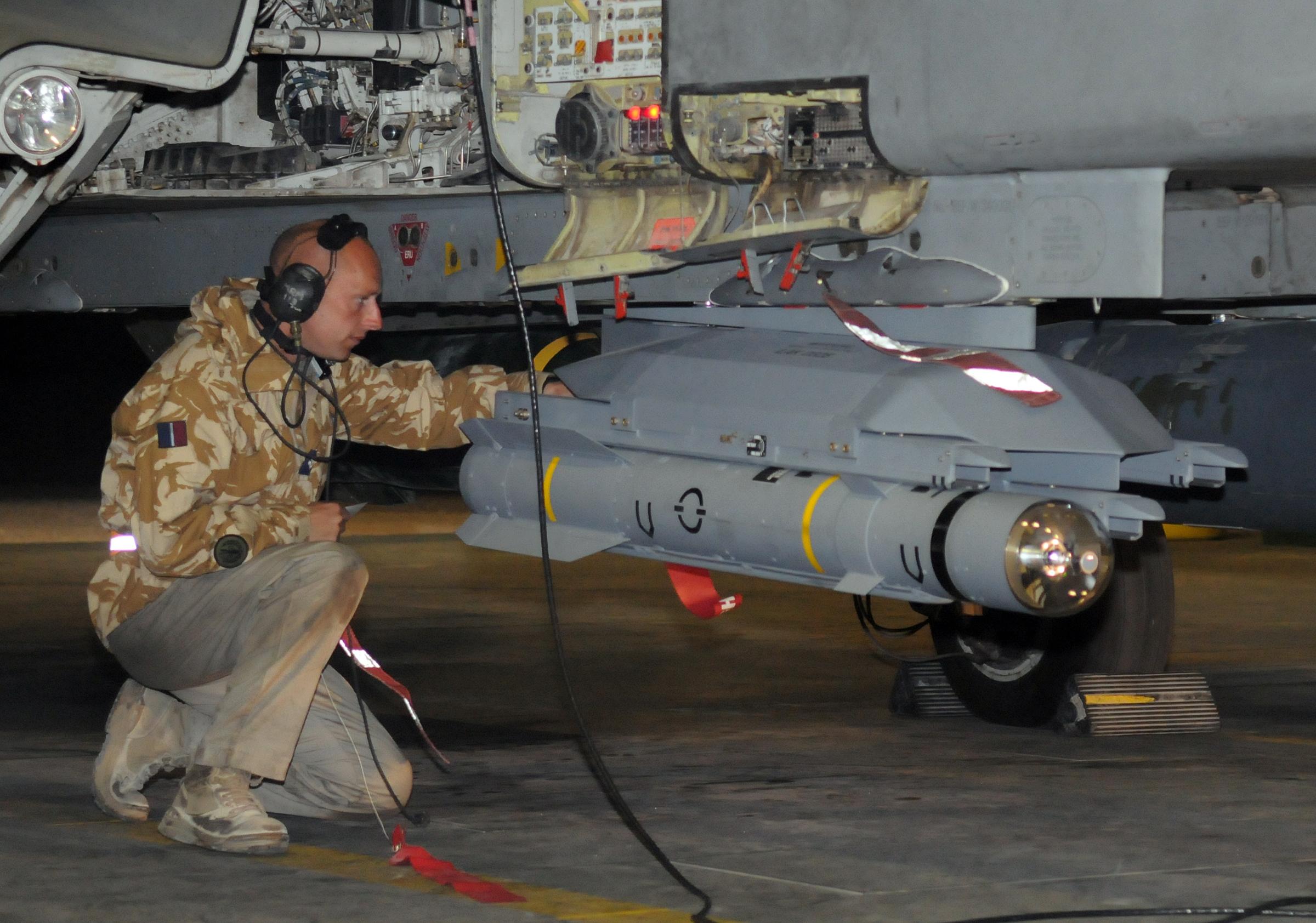 BRIMSTONE Iraq Tornado GR4 MBDA