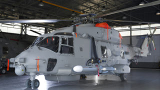 Marte ER on helicopter NH90