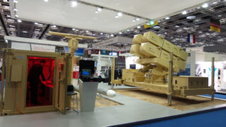 Marte Coastal Battery in Dimdex (Doha International Maritime Defence Exhibition & Conference)