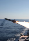 OTOMAT MK2 BLOCK IV firing from Durand de la Penne Destroyer