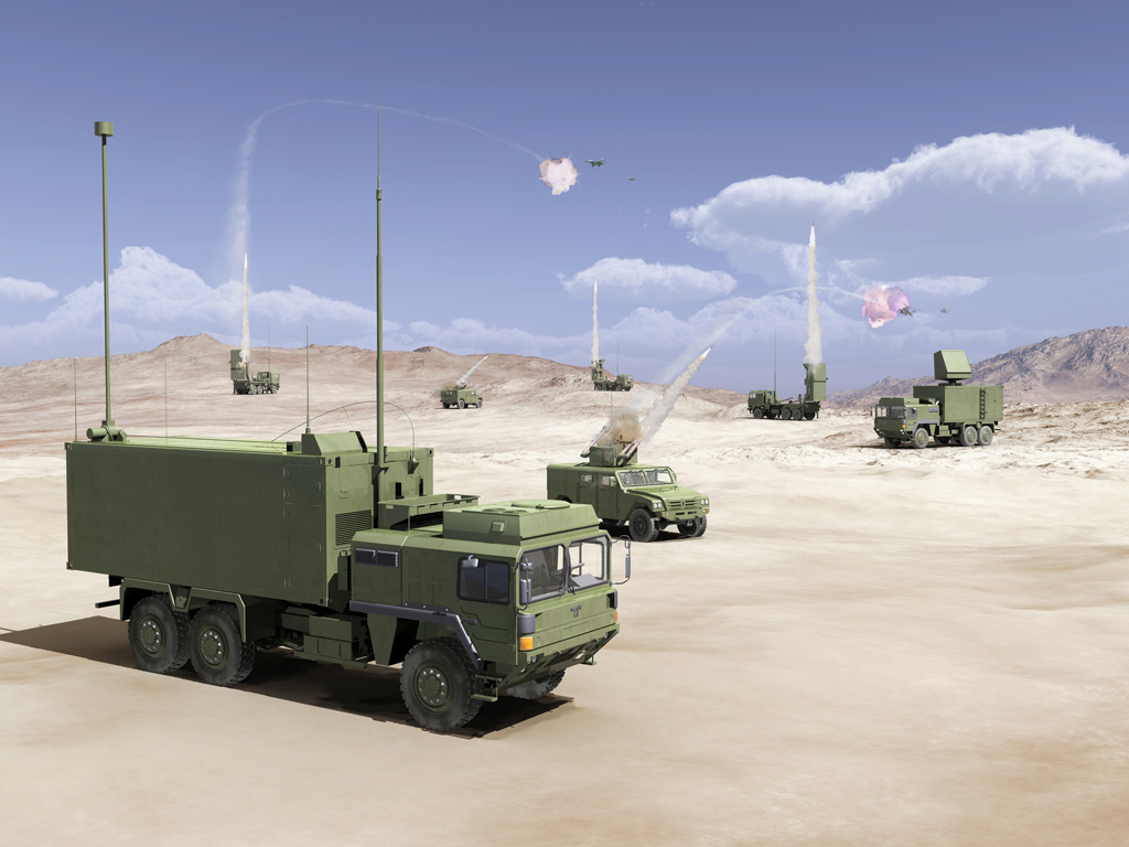 Mbda Introduces A New Ground Based Air Defence Capability
