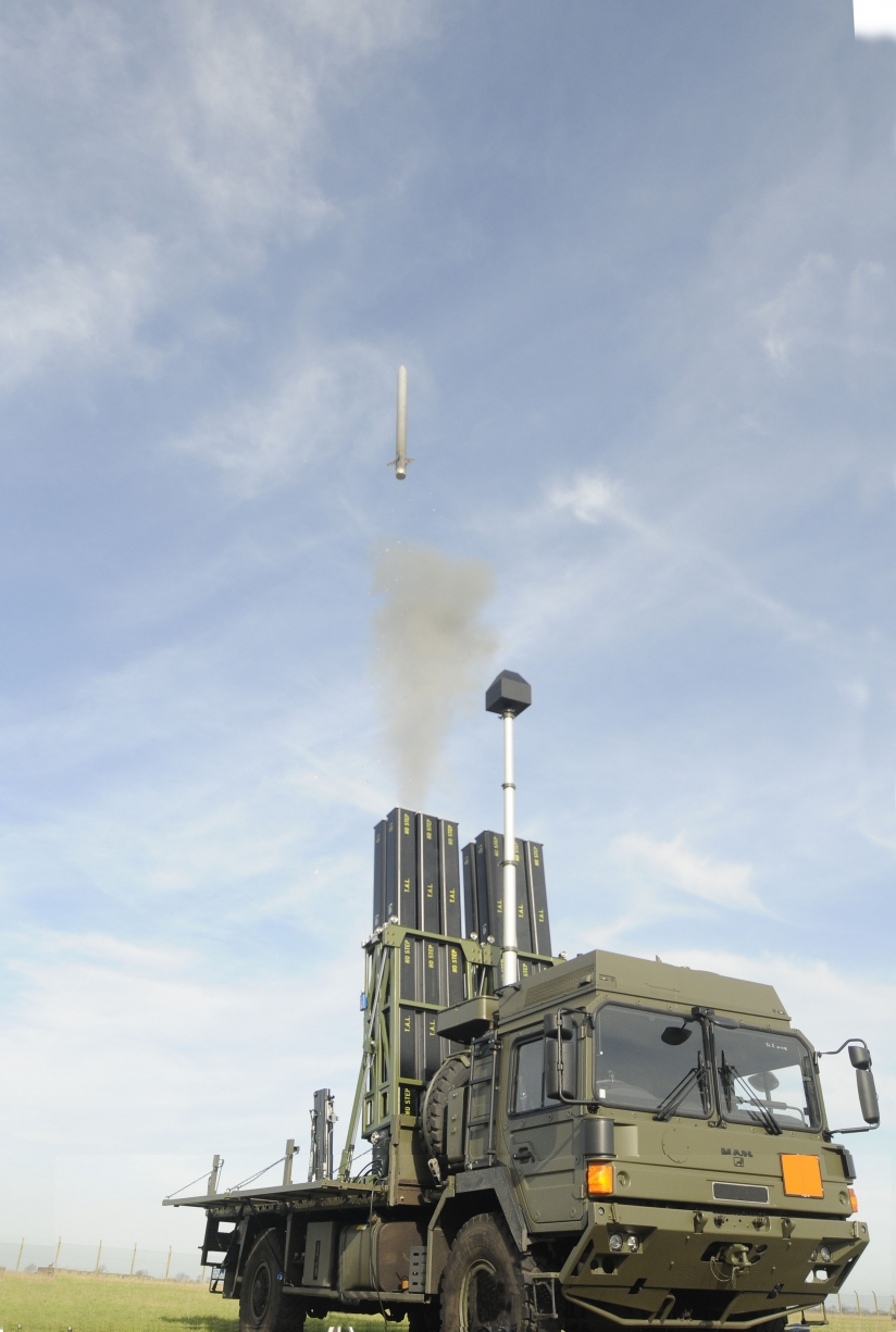 Mbda S Advanced Air Defence System For The British Army