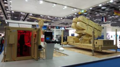 Marte Coastal Battery in Dimdex (Doha International Maritime Defence Exhibition & Conference)