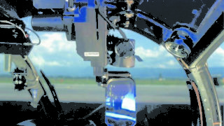 Viewfinder for MISTRAL ATAM on Gazelle helicopter (used by French Army)