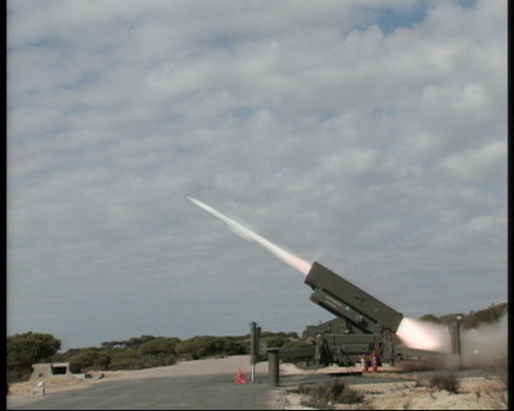 Report on El Aernosillo SPADA 2000 firing test in Spain