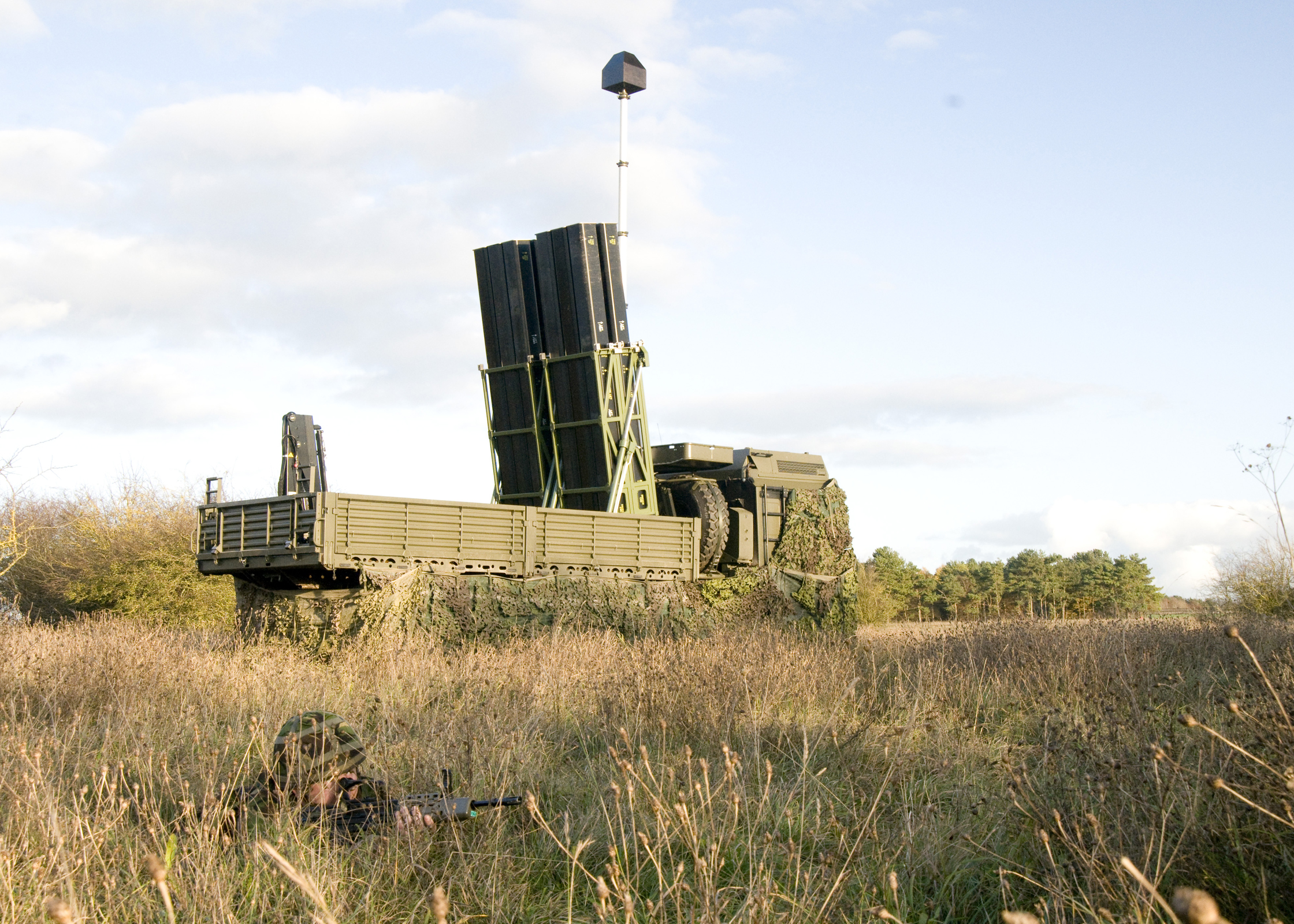 CAMM missile incorporate advanced technology