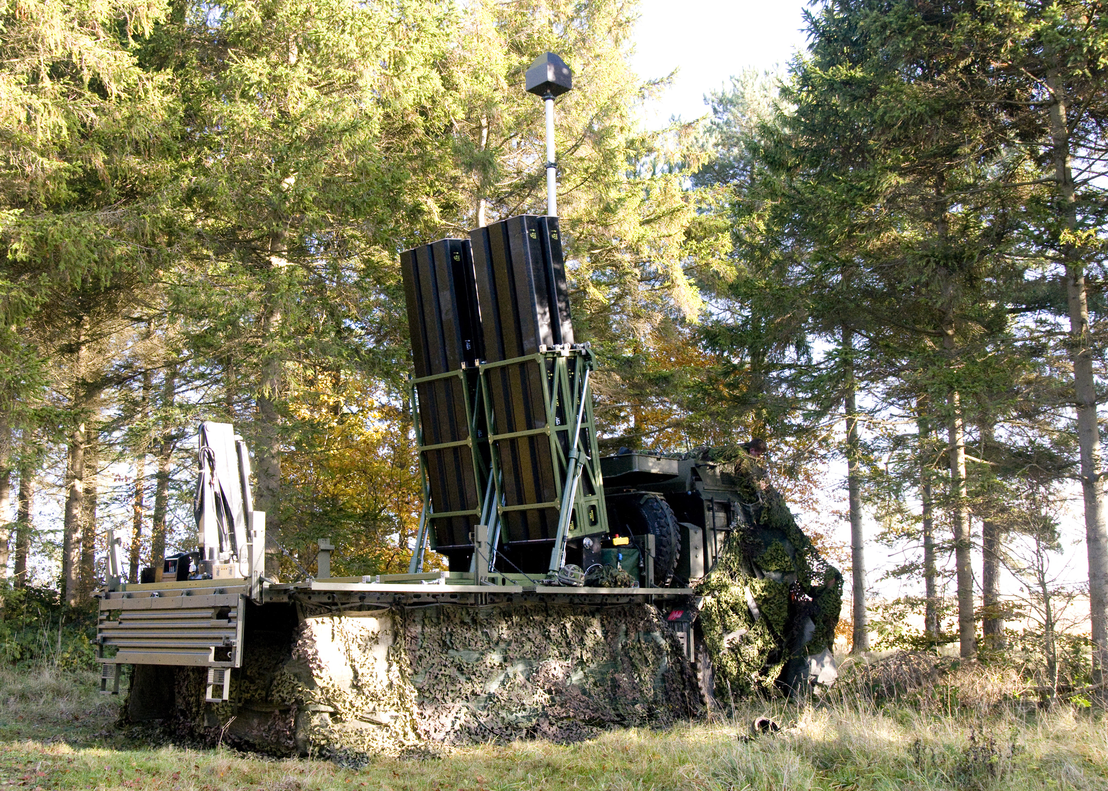 CAMM munitions land based forces