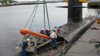 EXOCET SM 39 in a Scorpene submarine