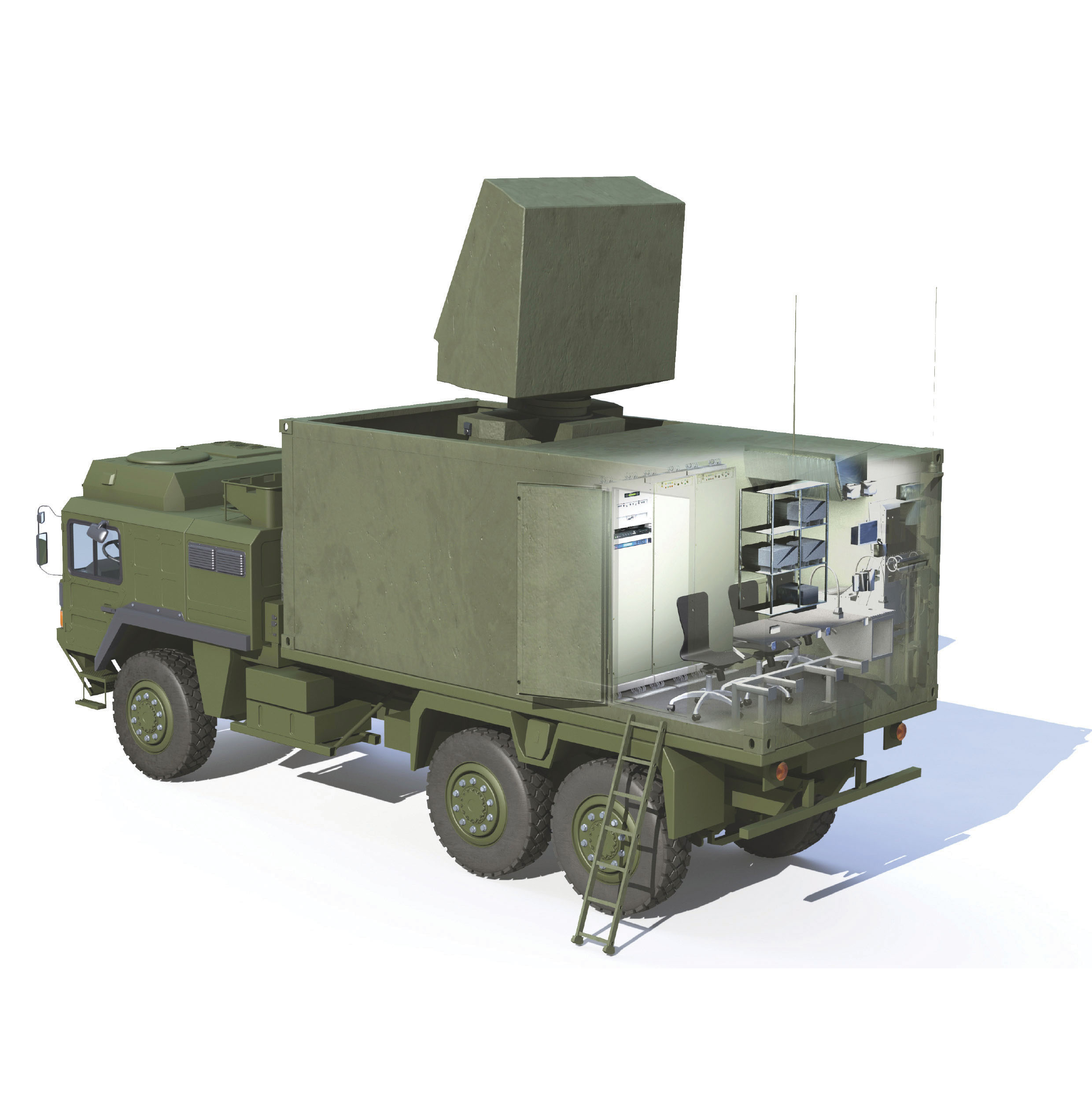 PCP can also be connected to compact and mobile sensors such as MBDA's IMCP