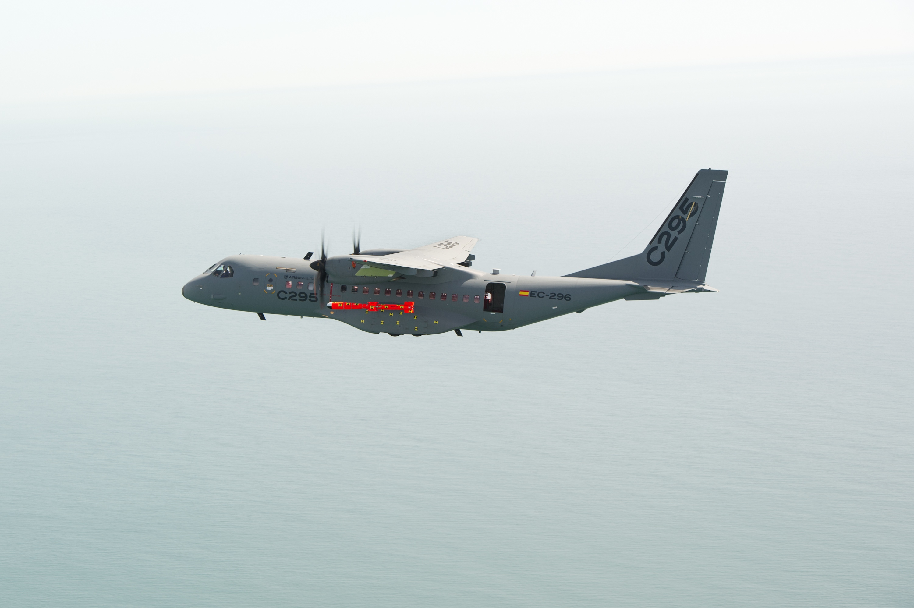 MARTE MK2 A dropped from Spanish Airbus C295