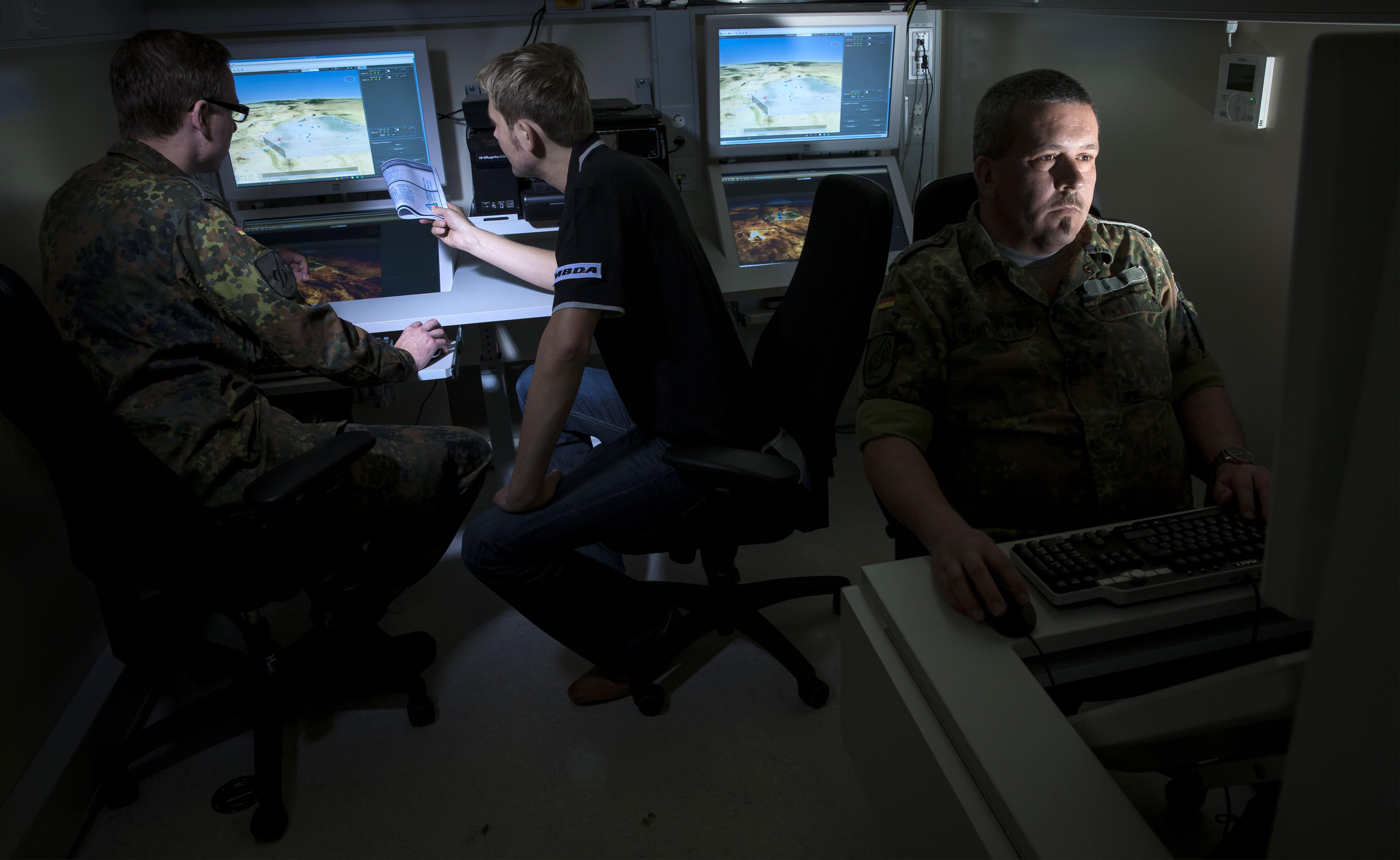 MBDA's defence system MEADS Shelter