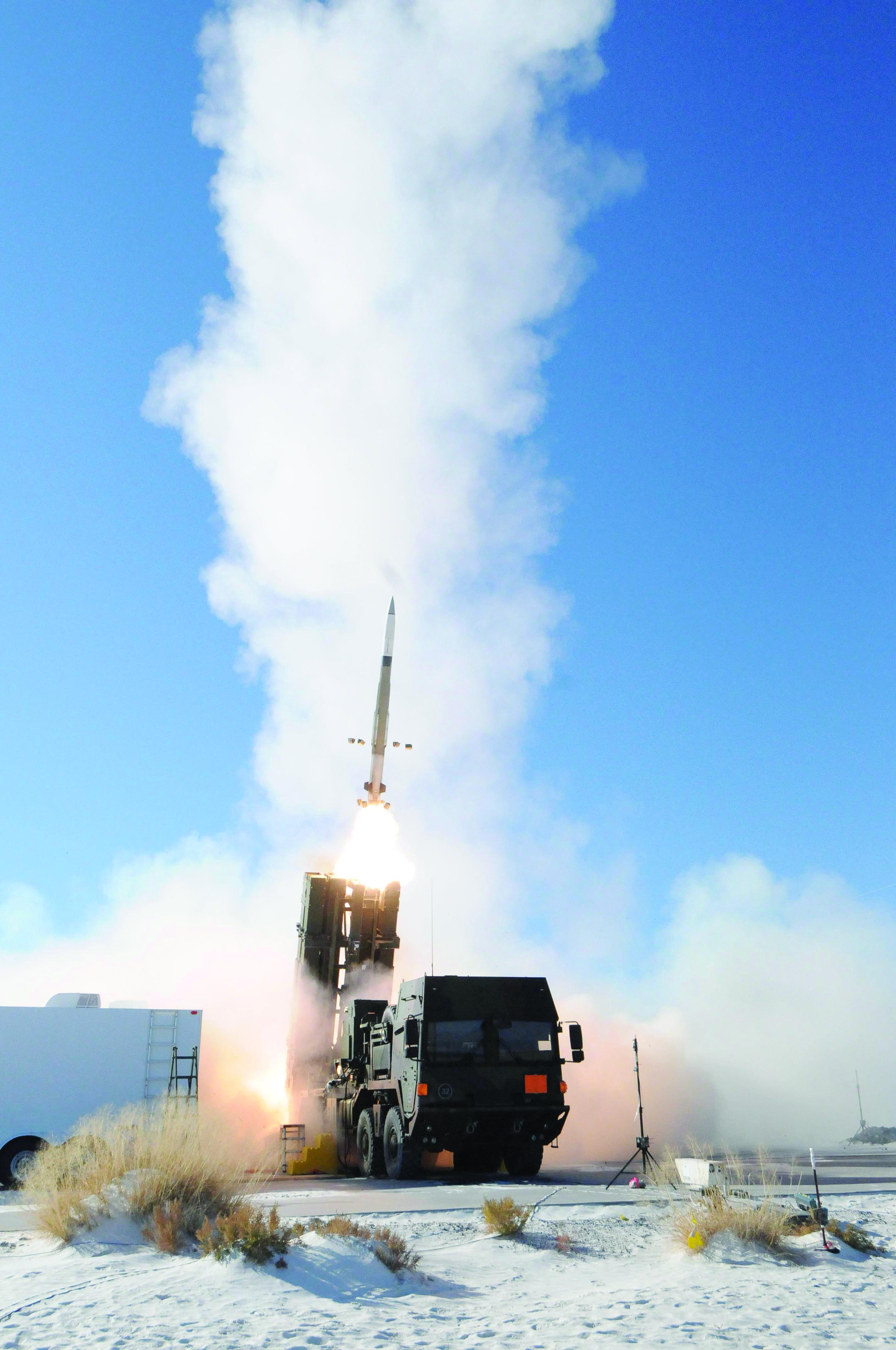 MEADS firing