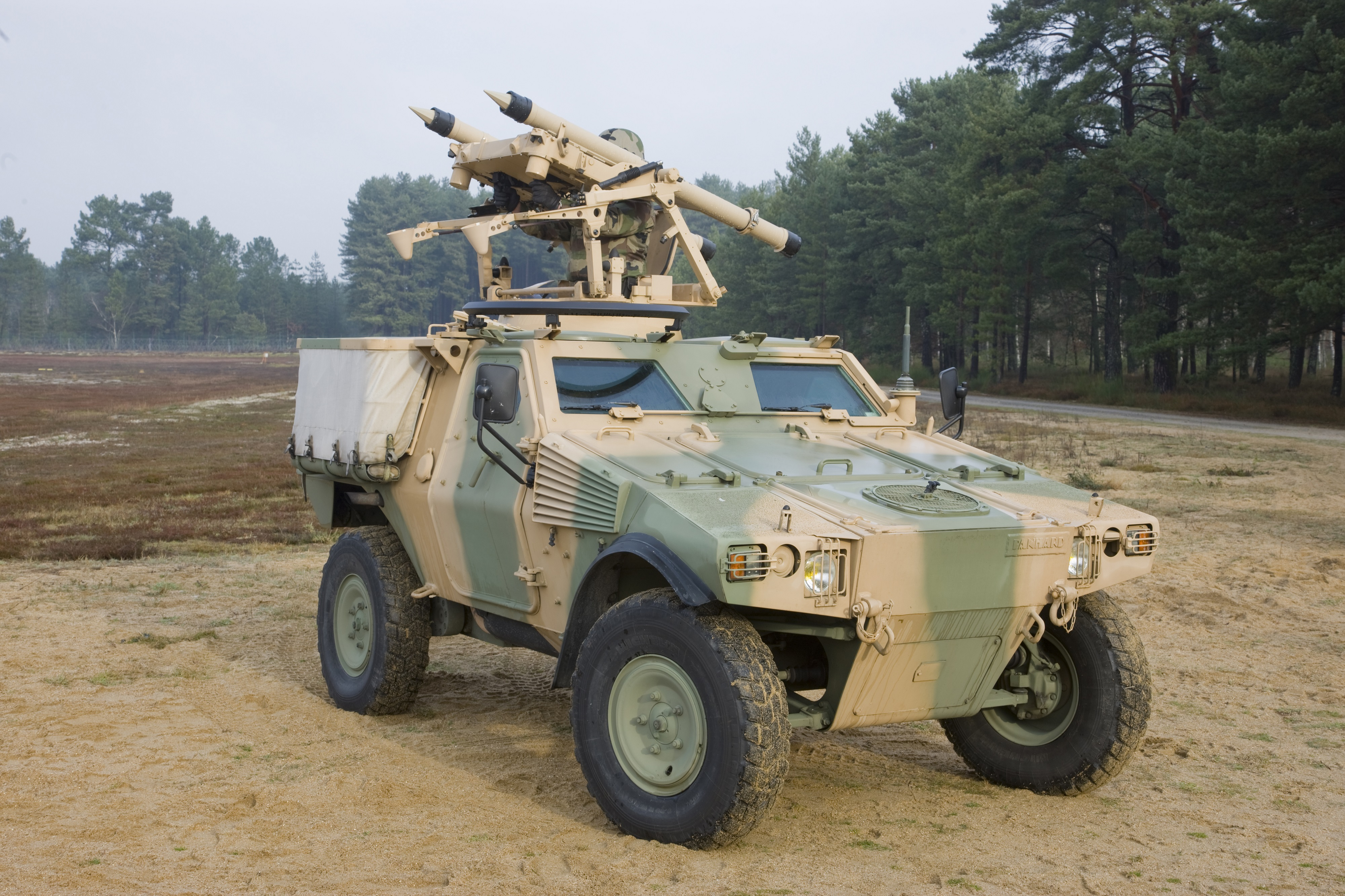 MISTRAL ALBI is a is a lightweight, 360° turret, optimised for the protection of armoured vehicle