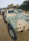 MISTRAL ALBI on armoured vehicle