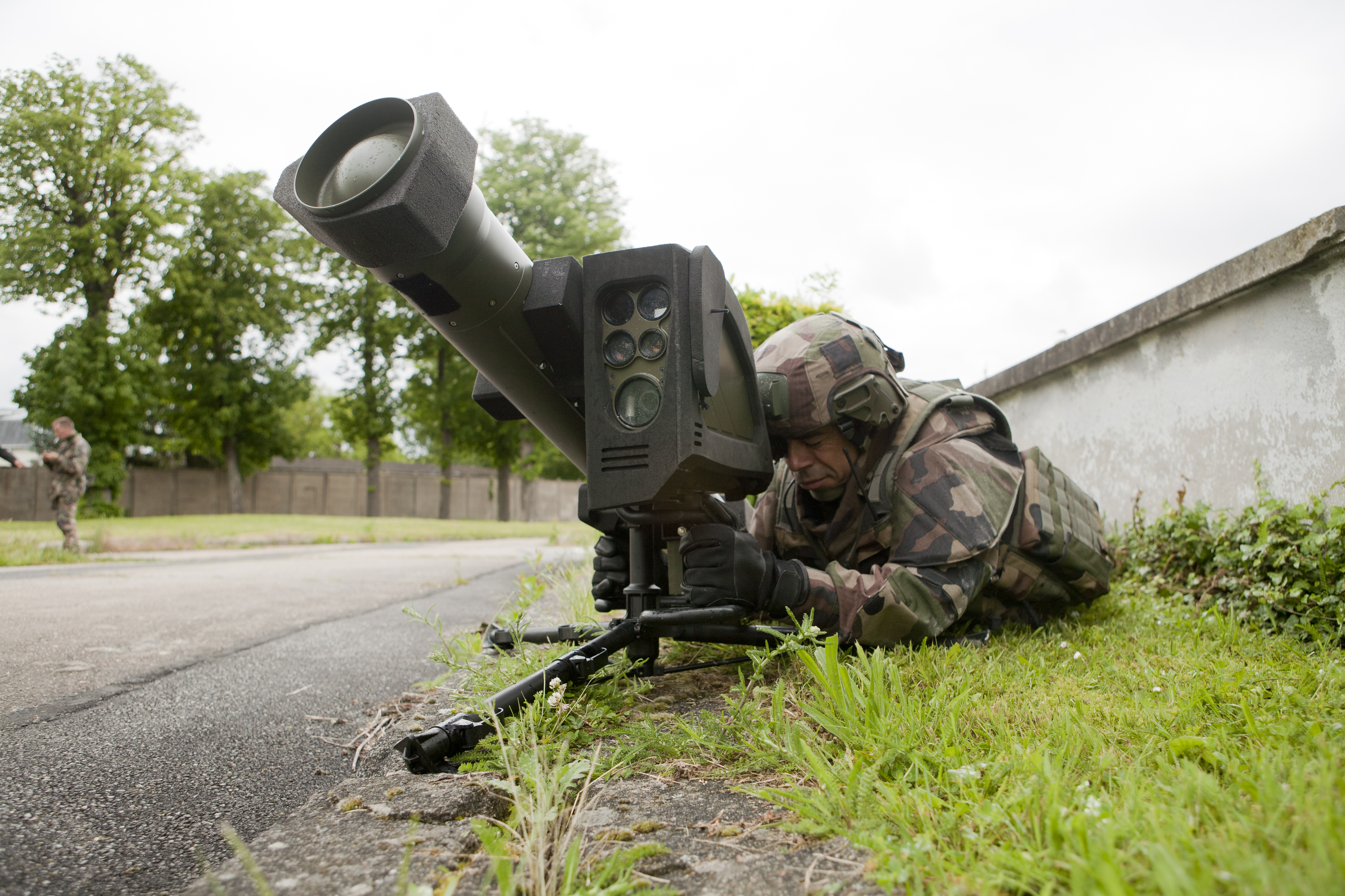 MMP used by a soldier during test-operation in Satory, France