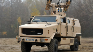 MPCV firepower weapon system tests in Rambouillet, France