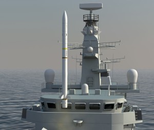 Sea Ceptor with CAMM © MBDA