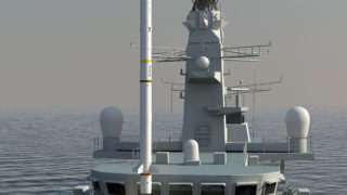 SEA CEPTOR on Royal Navy's frigate infography