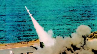 SPADA 2000 firing Aspide 2000 at PISQ