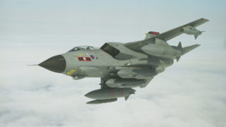 Storm Shadow on Tornado GR4 617 Squadron