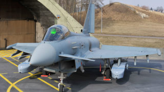 TAURUS KEPD 350 on Eurofighter at the Lufwaffe Air Base