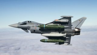 Eurofighter Typhoon Flight tests with Taurus KEPD 350 missile started