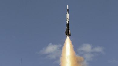 MBDA's missile ASTER 30 SAMPT ATOC firing at CELM (Centre d'Essai des Landes)