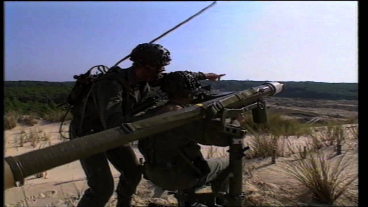Youtube capture of MISTRAL MANPADS a very short range air defence weapon system designed by MBDA and firing the MISTRAL missile