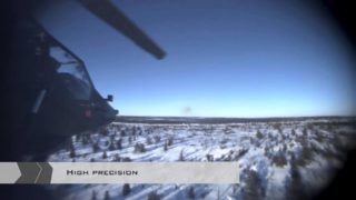 PARS 3 LR fire-and-forget from helicopter