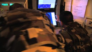 Thumbnail for Aster 30 SAMP/T video showing deployment of SAMP/T system military deployment