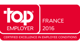 MBDA certifié Top Employer France 2016