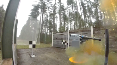 SIMBAD-RC firing test before first deliveries