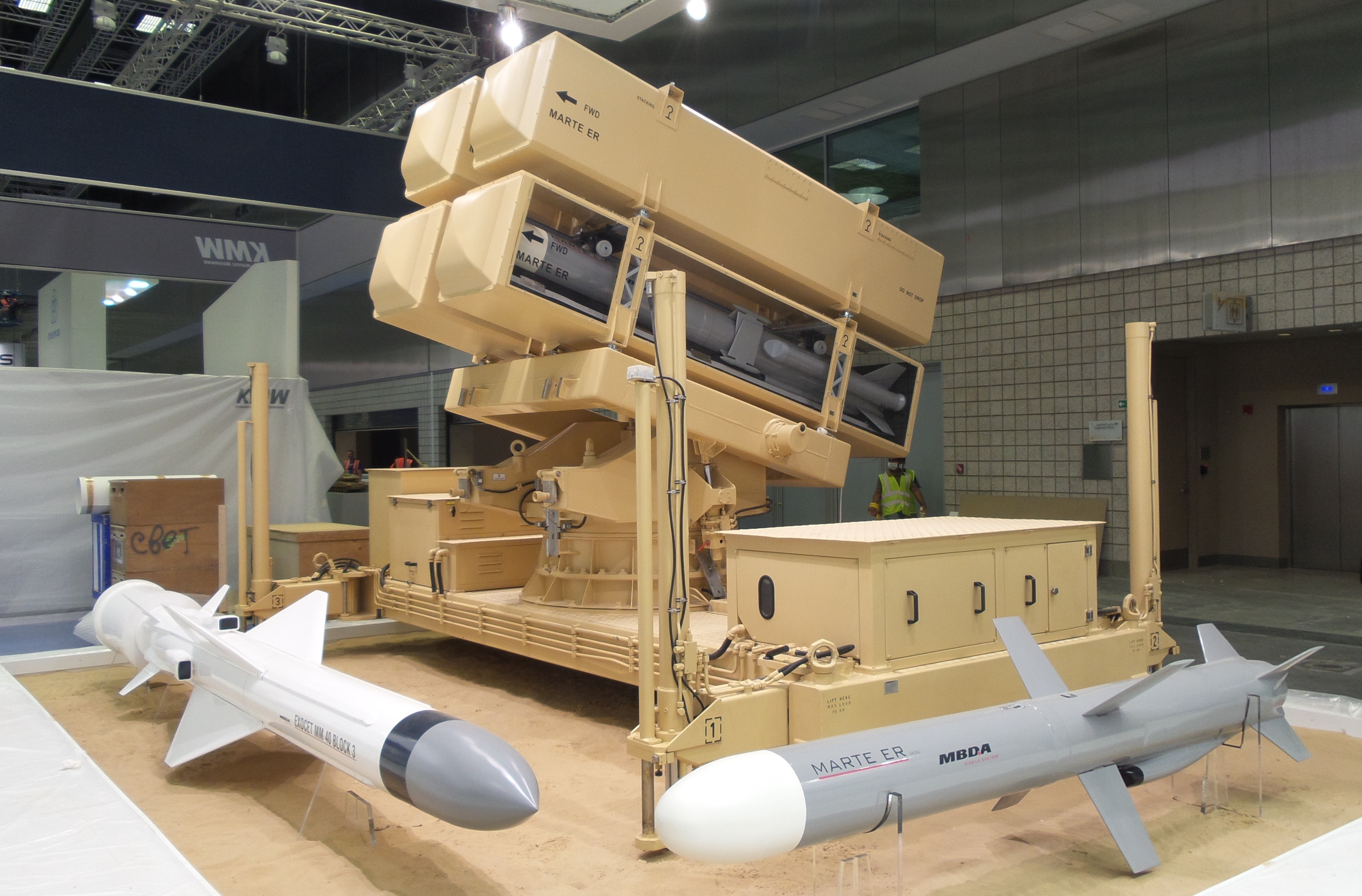 MBDA signs a MoU to supply coastal missile systems to ...