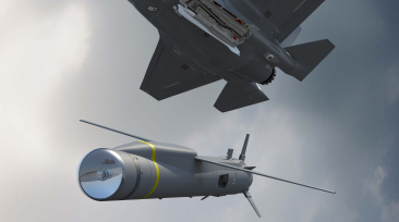 SPEAR launch from JSF internal weapons bay