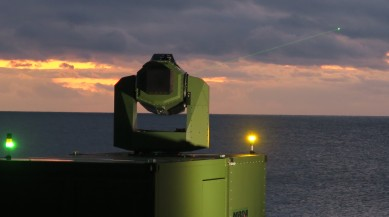 Tracking tests with MBDA Germany's new laser effector