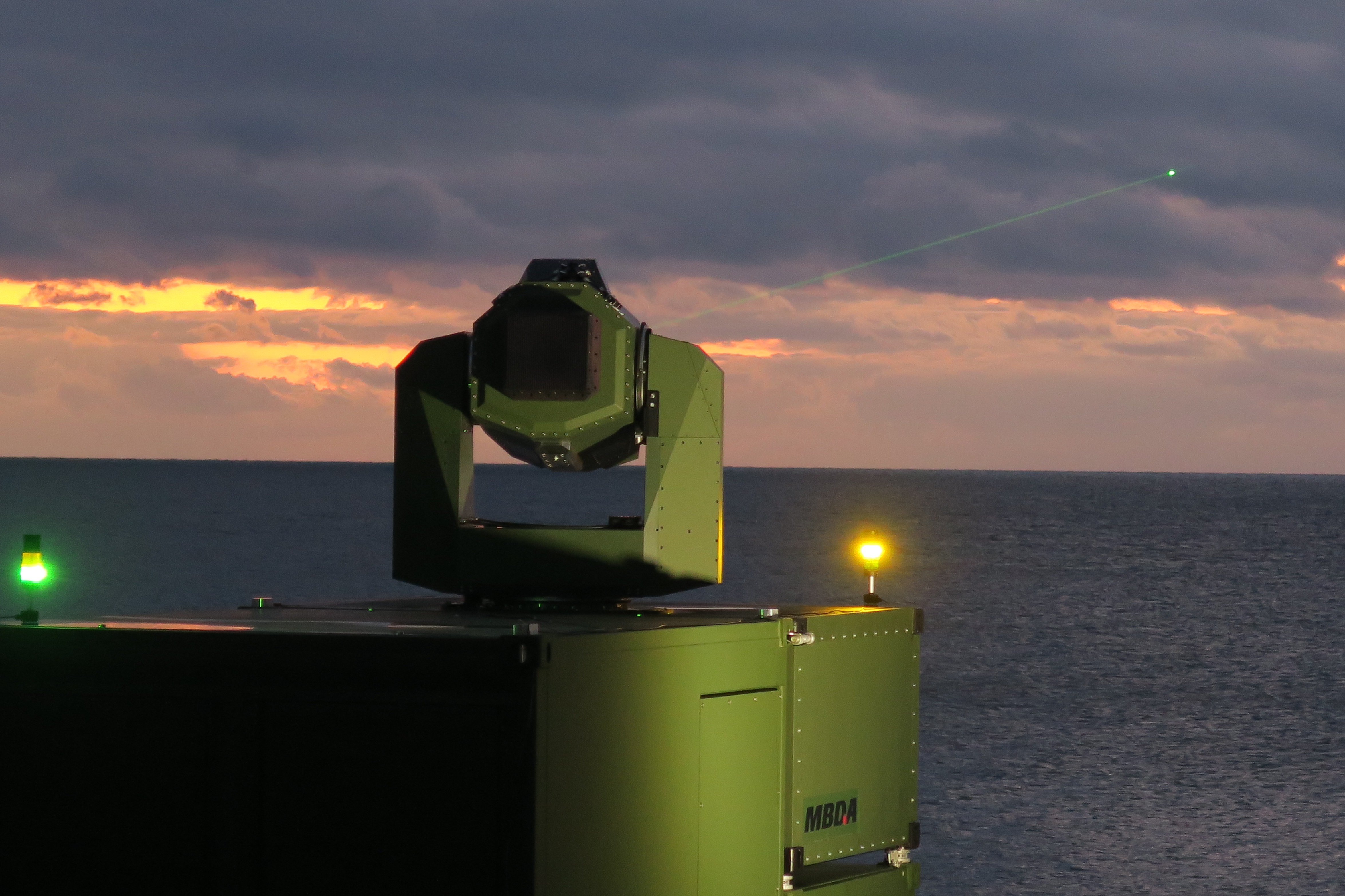 MBDA Deutschland successfully tests new laser effector - MBDA