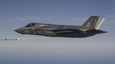 PR-ASRAAM First Firings from F-35