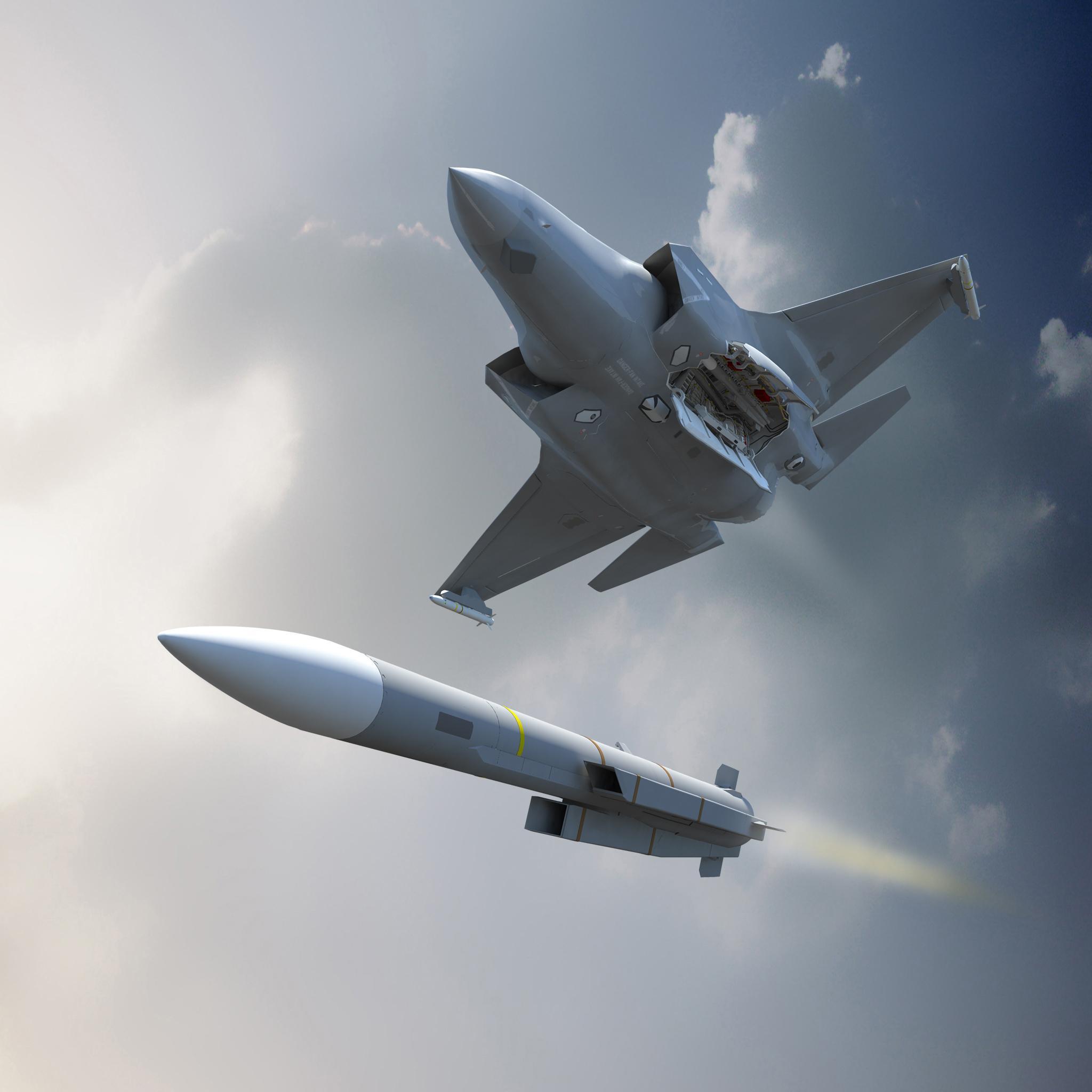 مقاتلة رافال المطورة للمعيار F3-R تكمل رحلتها الأولى بنجاح. Meteor-JSF-%C2%A9-MBDA