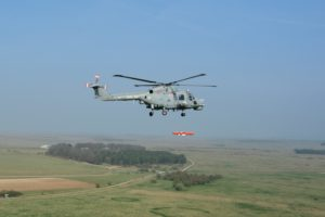 Sea Venom trials on Lynx Mk8 © MBDA-QINETIQ Ltd