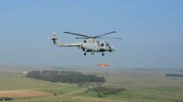 Sea Venom trials on Lynx Mk8 © MBDA-QINETIQ Ltd