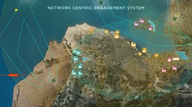 Photo-MBDA presents NCES-a multilayer-network-centric-scable architecture for ground based air defence