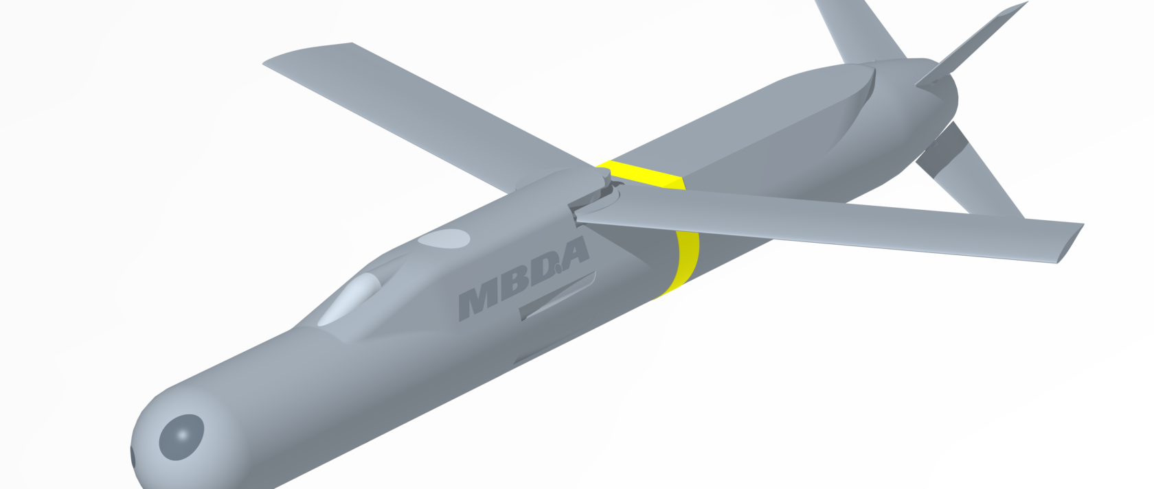 SmartGlider CADCAM view © MBDA
