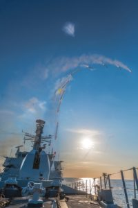 Sea Ceptor firing
