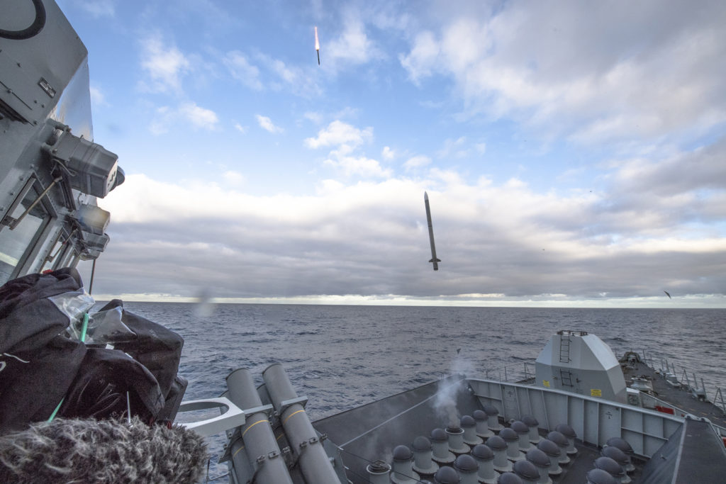 Royal Navy completes Sea Ceptor firing trials - MBDA