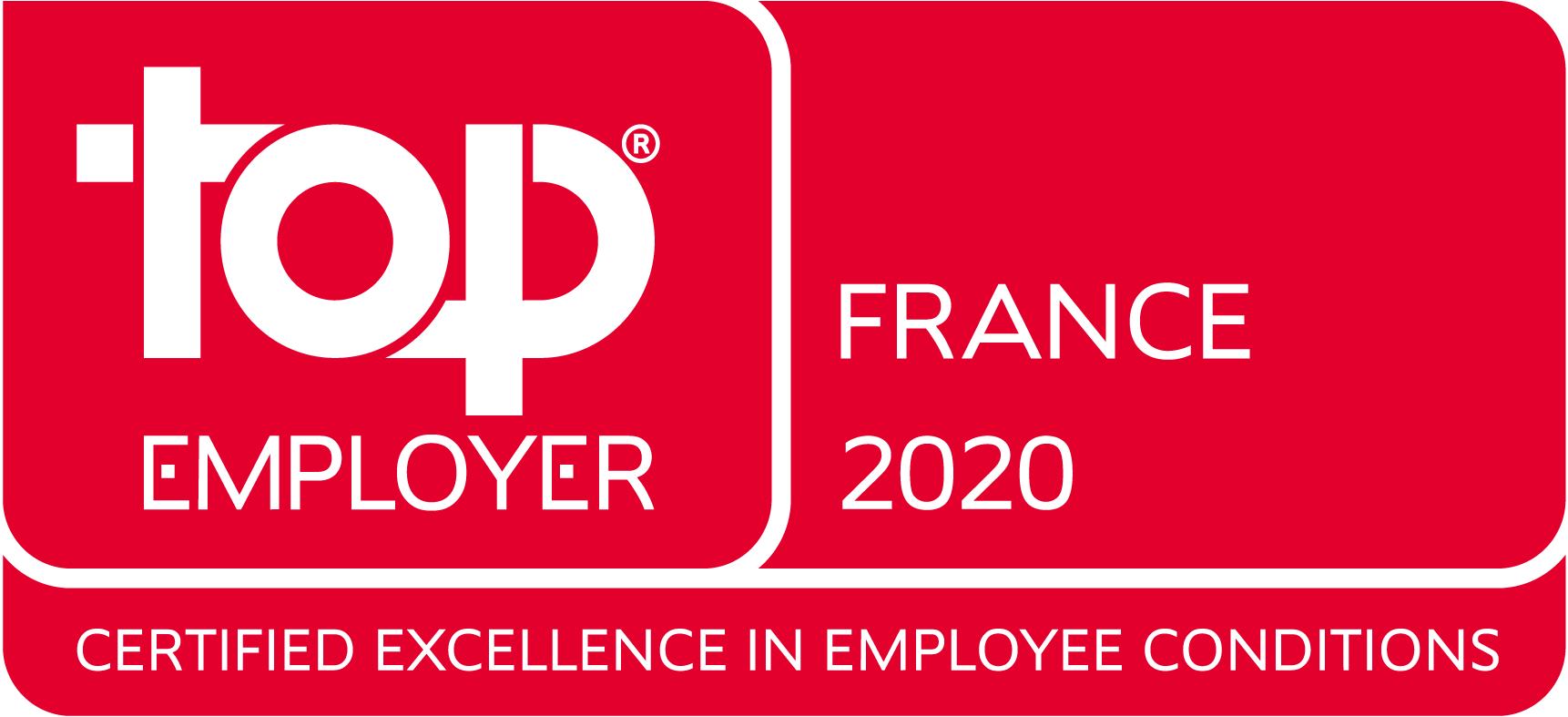 Top employer 2020 France