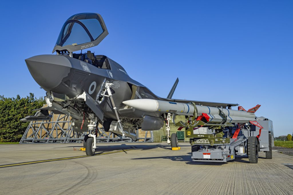Meteor and F-35B